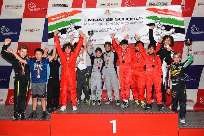 Emirates Schools Karting Championship Junior RD2