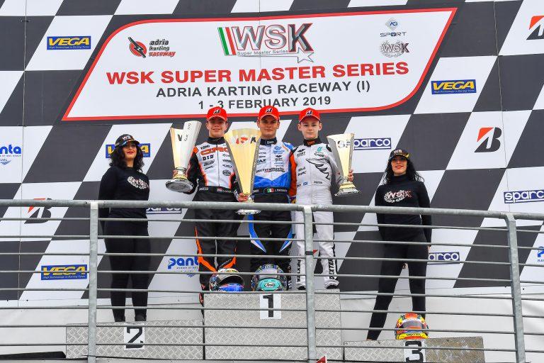 WSK Super Master Series, OK: Lorenzo Travisanutto shines again in Adria