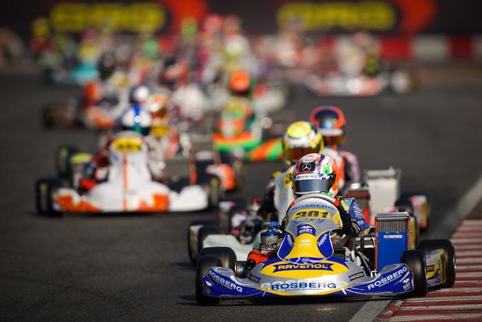 Rosberg Racing Academy Antonelli vola in testa, Barnard si conferma