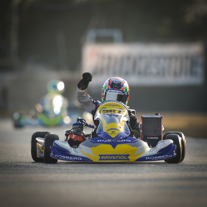 First win for Antonelli with the Rosberg Racing Academy