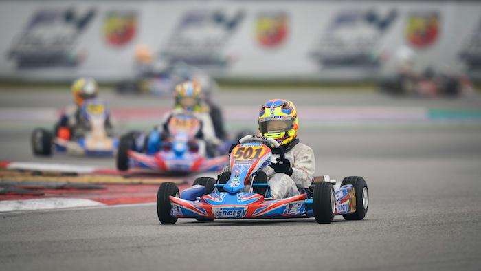 Alex Powell Racing 2019 – WSK Super Master Series, Adria (ITA), round 1 –  Powell se sitúa entre los mejores.