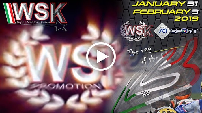 I filmati della WSK Super Master Series rd.1 – Adria Karting Raceway