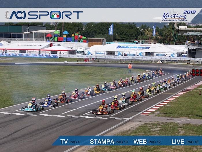 ACISPORT – El folleto de presentación del ACI Karting Italian Championships