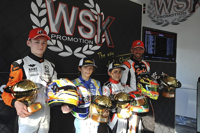 WSK Super Master Series: the closer in Sarno named the winners in an exciting finale last Sunday.