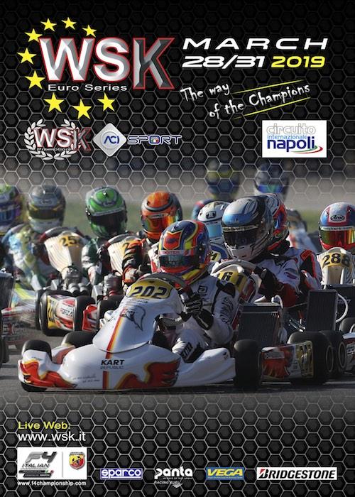KARTING: tappa d'apertura della WSK Euro Series a Sarno (SA)
