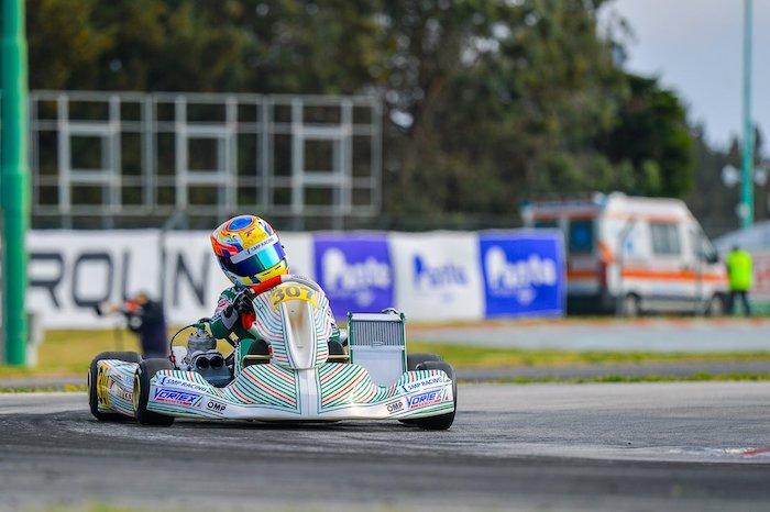 Bedrin conquista il podio a La Conca per il Tony Kart Racing Team