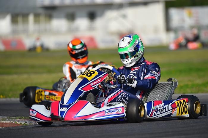Il Kosmic Kart Racing Department al via della WSK Euro Series