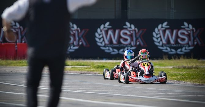 Parolin Racing Kart – WSK Super Master Series – Win and title in 60 Mini at Sarno