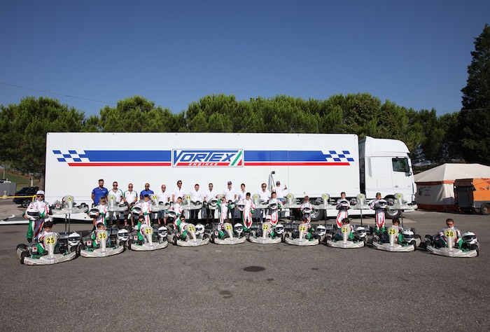 The 6th Kart Summer Camp of the ACI Sport Federal School on 16-17-18 July in Adria