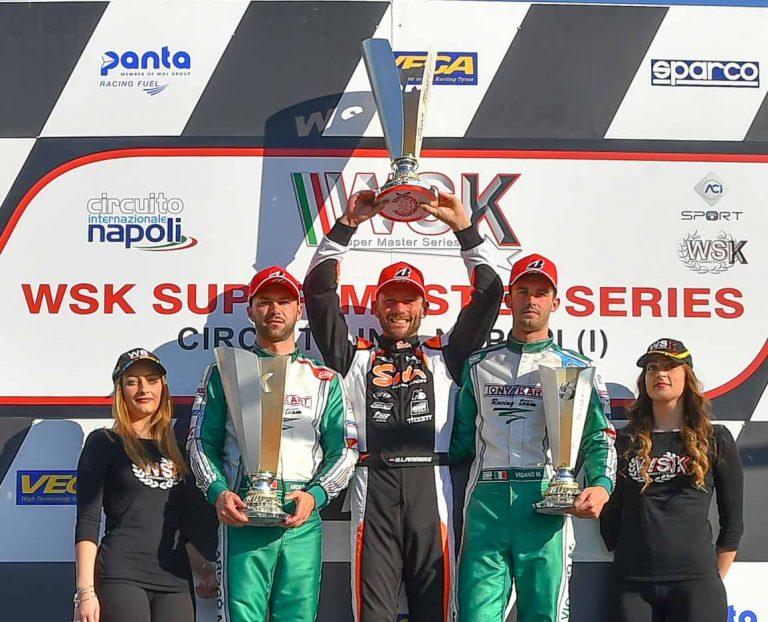 Bas Lammers completa una perfetta WSK Super Master 2019 KZ2 con il titolo e la vittoria della gara