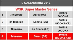 Calendario Supermaster.Fourth And Last Round Of The Wsk Super Master Series In