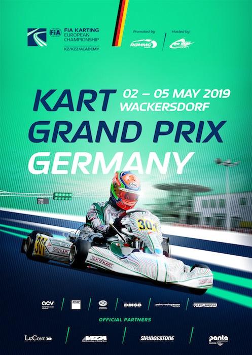 FIA Karting – KZ, KZ2 e Academy sono pronti per scendere in pista in Germania
