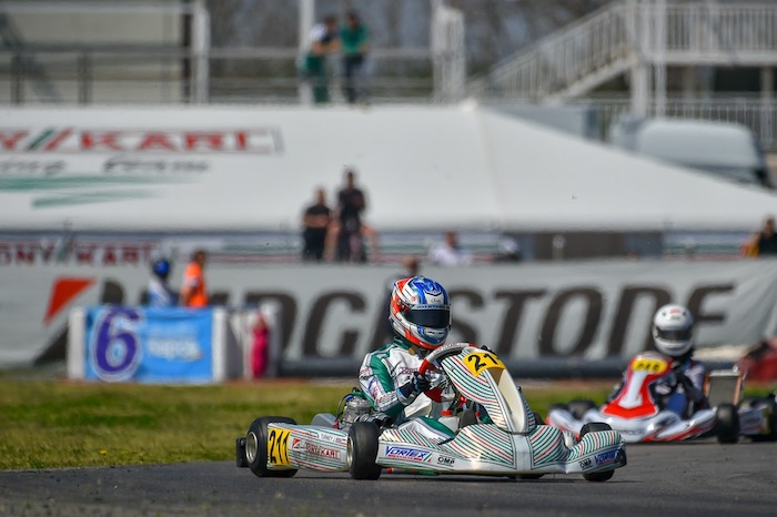 Il Tony Kart Racing Team verso l'Europeo OK e OK-Junior ad Angerville