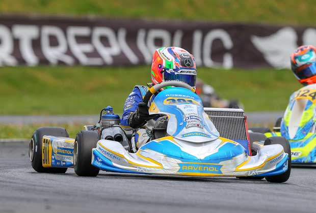 WSK Euro Series, Angerville: Antonelli wins after a post-race penalty for Day