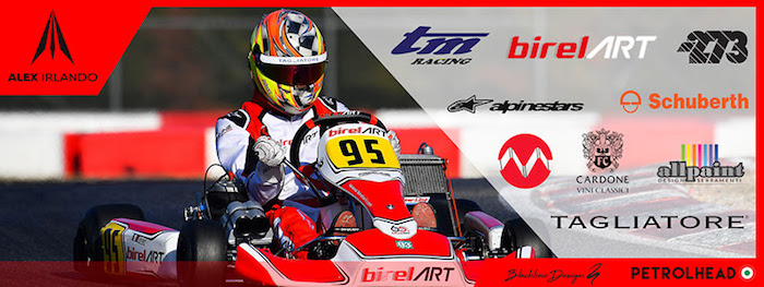 Alex Irlando inizia la stagione CIK-FIA