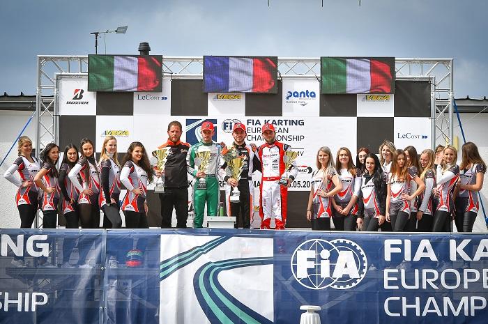 European Champs: Abbasse domina la classe KZ a Wackersdorf
