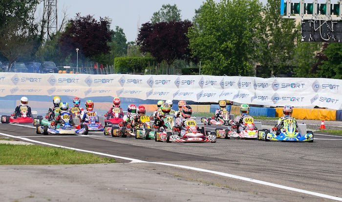 Italian ACI-ROK Championship. 1st rnd. Locatelli and Ragone come out as leaders