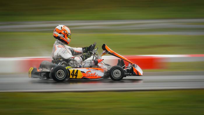 FIA Karting – Rain comes to the Heats at Wackersdorf