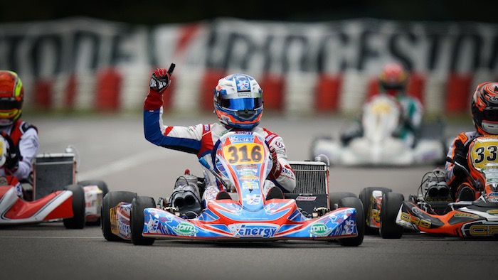 Energy Corse: winner and leader of the KZ2 European Championship