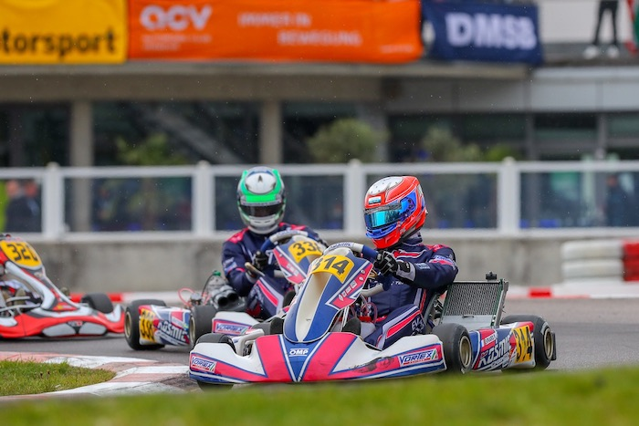 Changeable Weather Conditions Compromize The European Champiosnhip In Germany