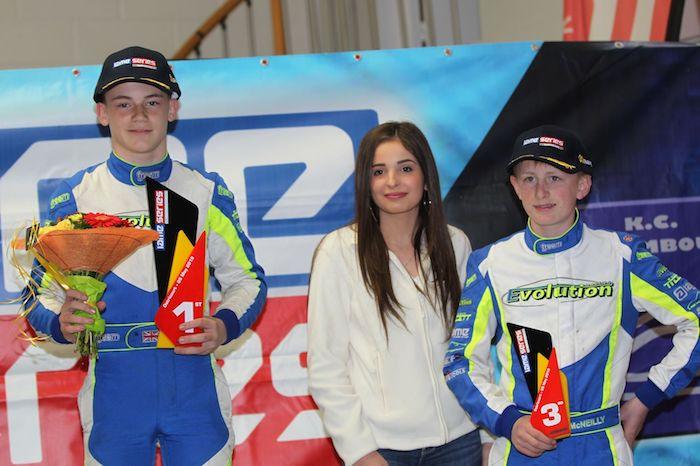 Prestazione dominante per Team Evolution alla IAME Benelux Series di Ostricourt
