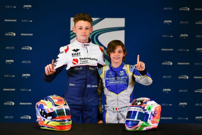 European OK, OKJ Champs: Kart Republic domina le qualifiche in Svezia, pole position per Patterson e Antonelli