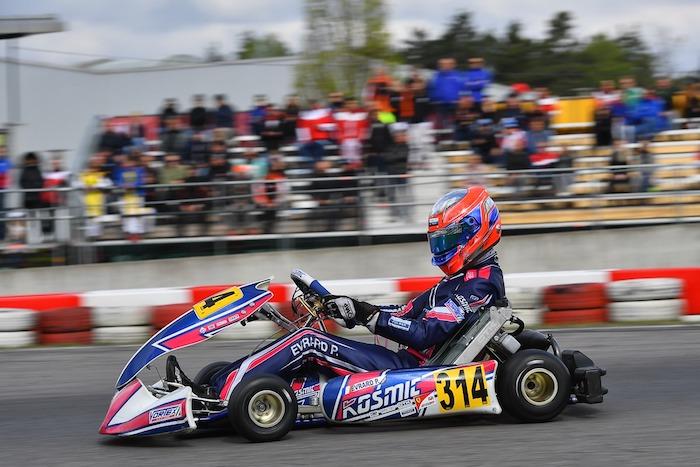 Kosmic Kart – In Sarno for the final round of the KZ2 European Championship