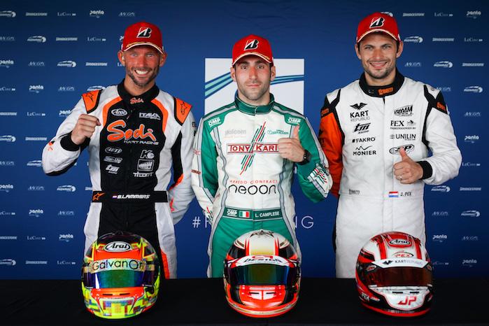 FIA Karting – finali emozionanti ai piedi del Vesuvio