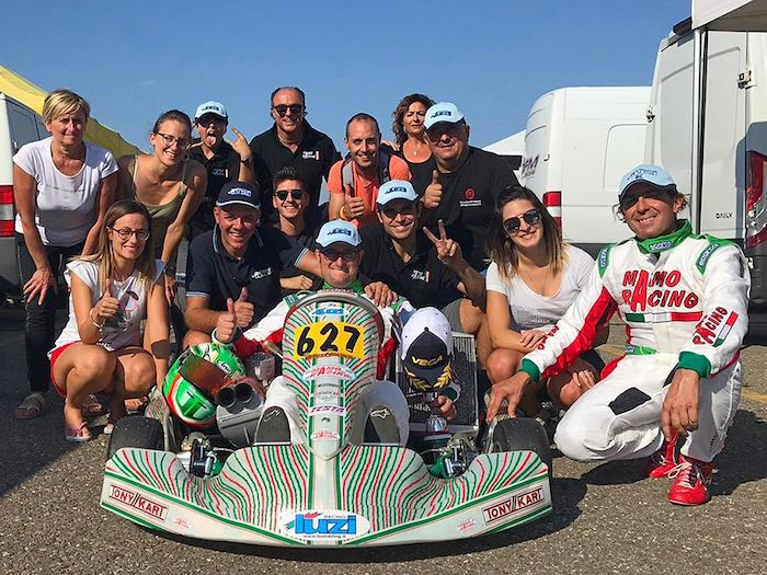 The provisional turnout for the second round of the Italian ACI Karting Championship rose to over 260 temporary members