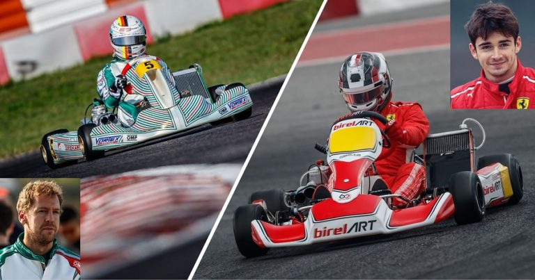 Karting is the only pure form of motorsport, word of F1 drivers