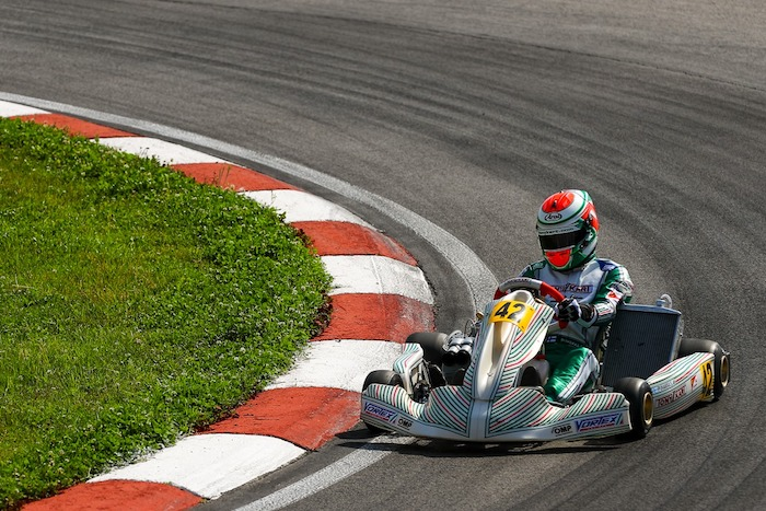 Tony Kart first in KZ at the European Championship in Sarno