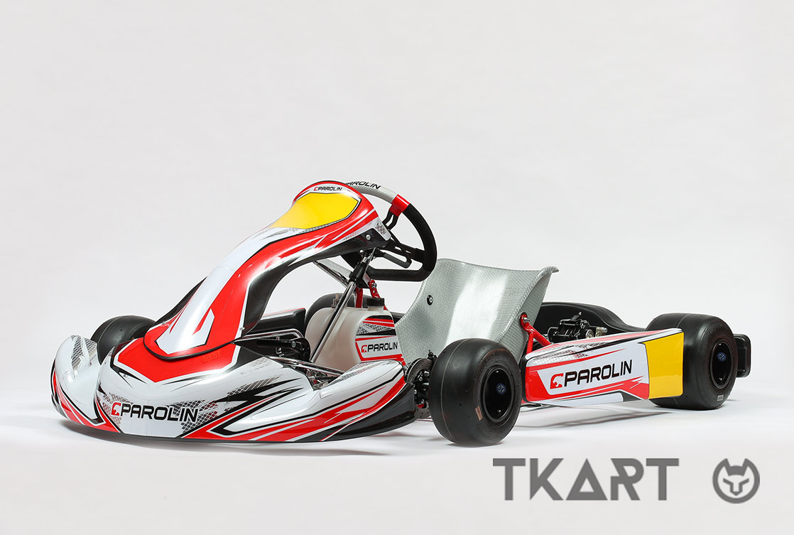 Accessories and materials to lighten the kart and improving its