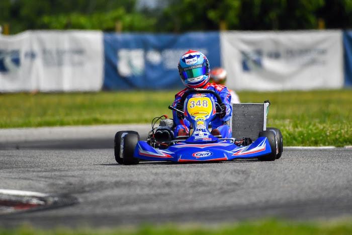 CKR – FIA Karting European Championship – Importante esperienza per un Justin siempre in crescita