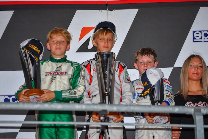 WSK Euro Series, Round 4 | Newman Motorsport y Davide Larini excelente segundo lugar en la Final B. Andrea Filaferro prevalece en el Prefinal