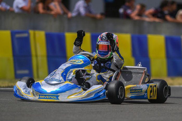 Rosberg Racing Academy – Antonelli gana en Le Mans y Barnard toma el podio!