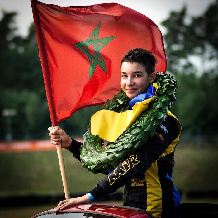 Suleiman Zanfari, campione svedese OK-Junior 2019