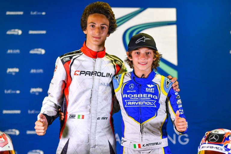 European OK, OKJ Champs: rain, crashes and different leaders in Le Mans