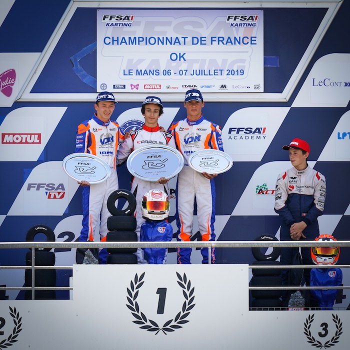 Parolin Racing Kart – Le Mans: nuova vittoria nella OK e promesse nella Junior