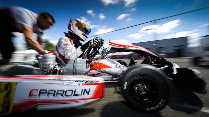 Parolin Racing Kart – Campionato europeo: Minì vincitore e vicecampione OK, Top-5 Junior per Wharton