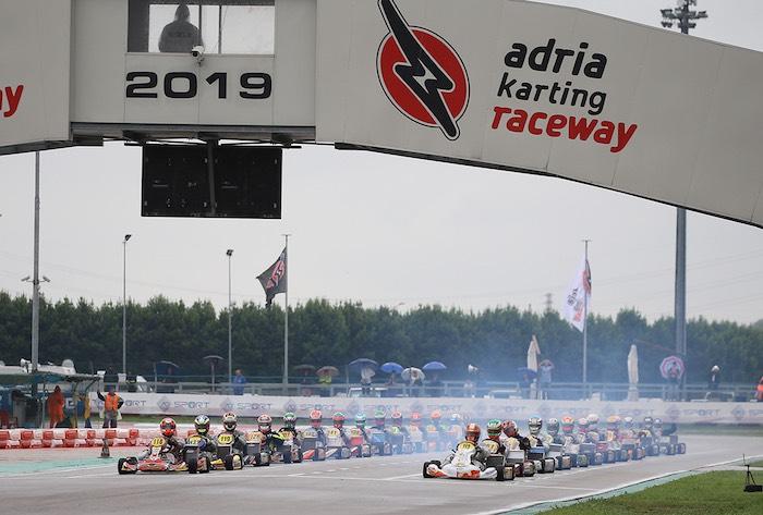 Primeros títulos italianos otorgados a Adria en la cuarta ronda del Campeonato italiano de karting ACI