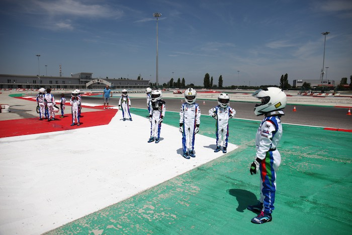 Great activity on the second day of the 6th Kart Summer Camp of the ACI Sport Federal School in Adria