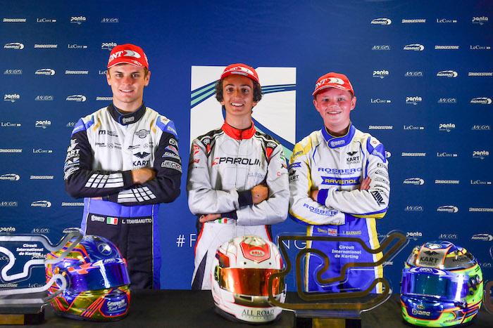 OK European Champs, Le Mans: Travisanutto si aggiudica il titolo Europeo, Minì vince la finale Le Mans