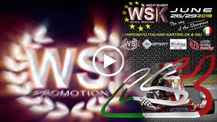 Le immagini video della WSK Euro Series rd.4 Night Event – Adria Karting Raceway