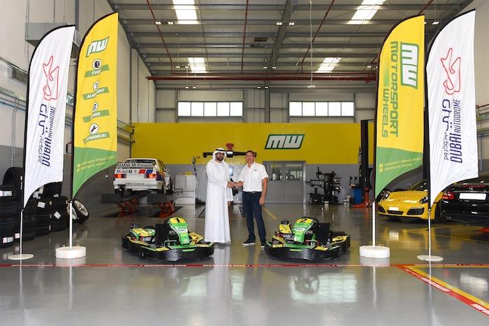 Nuova partnership tra Dubai Autodrome e Motorsport Wheels