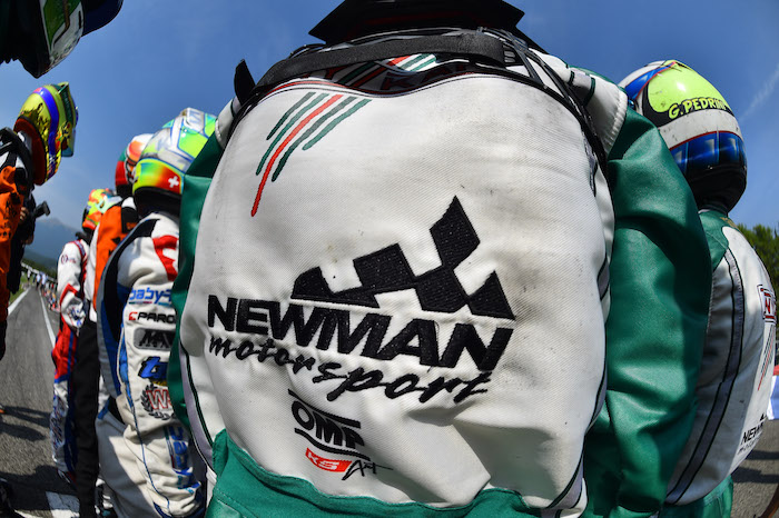 Double commitment for NEWMAN Motorsport between ADRIA (Finale Italiana ROK) and Castelletto di Branduzzo (IAME). OKJ debut for Andrea Filaferro