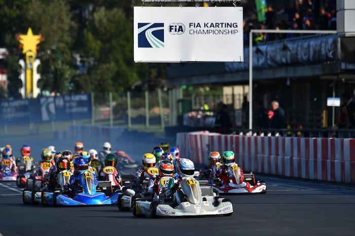 Tony Kart sul podio mondiale