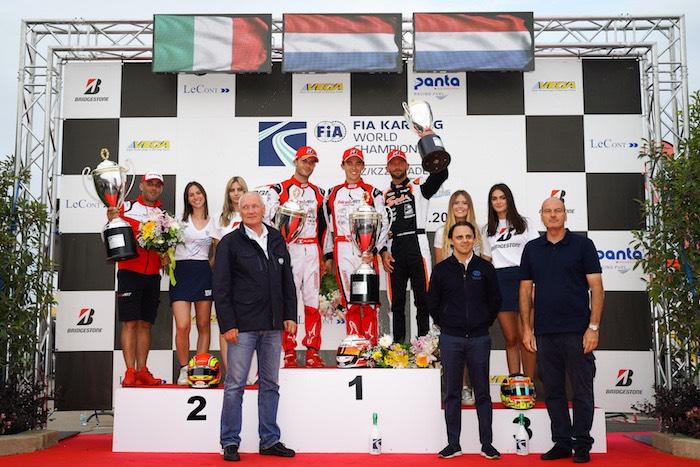 FIA Karting – Kremers campione del mondo KZ con i colori Birel ART