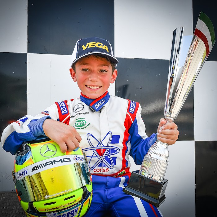The series of podiums continues for Alex Powell