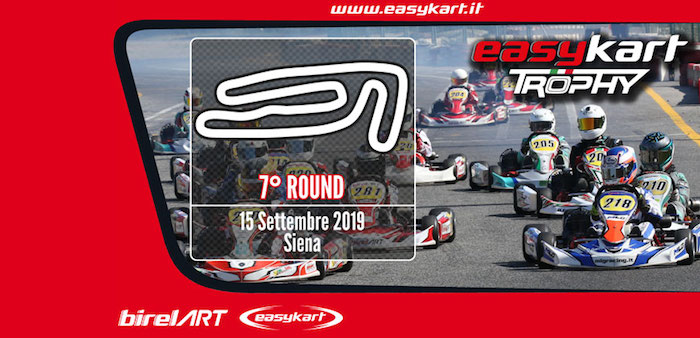 The final round of the Easykart Trophy in Siena