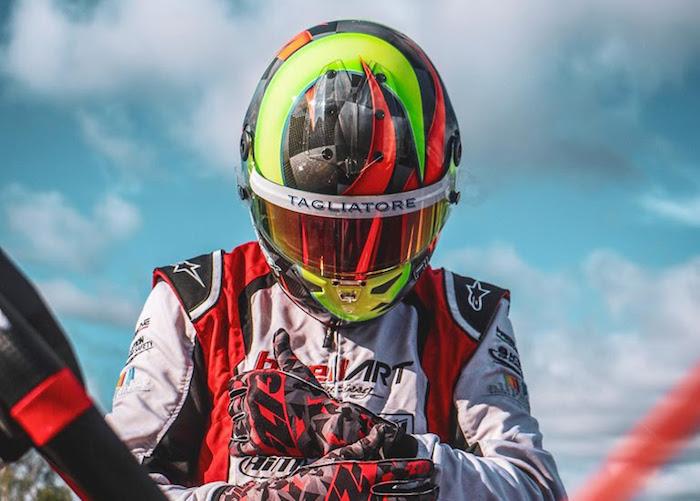 Alex Irlando a Lonato per il Campionato del Mondo KZ FIA Karting